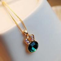 милый кролик Форма ожерелье #01026867