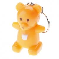 Медведь Стиль Белый свет светодиодный брелок (Random Color) #00494517