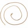 Женская 45см золото 18K Циркон ожерелье XL0022