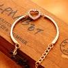 Встретиться с вами Дрель форме сердца Прекрасный браслет #01201149