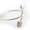 Встретиться с вами Дрель форме сердца браслет ПР Style #01201146