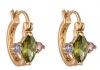 Коллекция Julya, изделия с покрытием розового золота 18К, Цирконий, 150 руб/ед