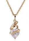 Коллекция Julya, изделия с покрытием розового золота 18К, Цирконий
