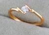 Кольцо, позолота, самое дешевое изделие с позолотой!