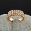 Xinxin Женская золото 18K Циркон кольцо J1055