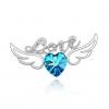 Магия принцессы дома Heart Shape Декор Брошь Y018-9 #00758044