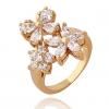 Xinxin Женская золото 18K Циркон кольцо J1176