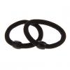 (2шт) Мода черный Ткани связи волос для женщин (черный) #00855656